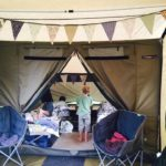 Family Glamping MarGins Walking and Glamping Holidays