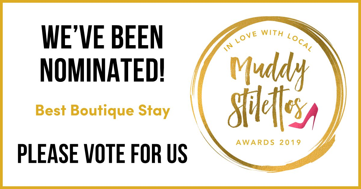 Muddy Stiletto's Award nomination