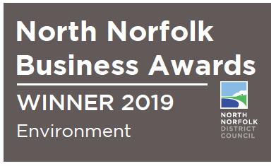 North Norfolk Business Awards winner 2019
