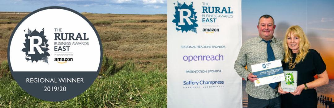 Regional Winner The Rural Business Awards East