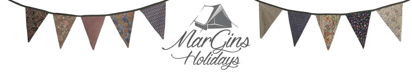 MarGins Walking and Glamping Holidays on the North Norfolk Coast Logo
