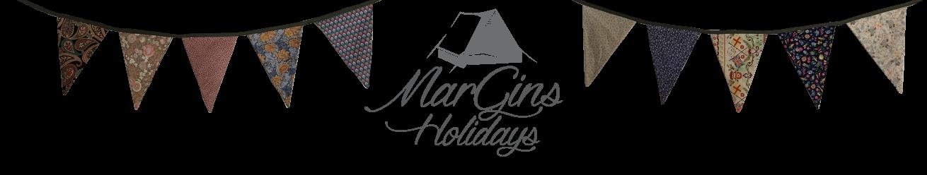 MarGins Walking and Glamping Holidays on the North Norfolk Coast Logo